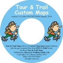Tour Trail Custom MAps CD