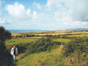 On the island's south coast