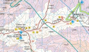 Walk Madeira Walk  20  map