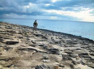 Walk Menorca limestone tables walk 8 south east