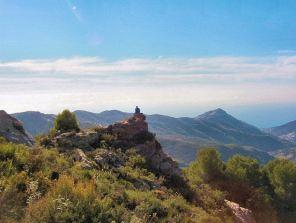 La Axarquia - views from Loma  de las Cuadrillas
