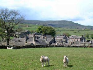 The village of Gayle, visited on Walk 25