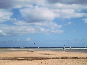 Watersport heaven on Fuerteventura's east coast