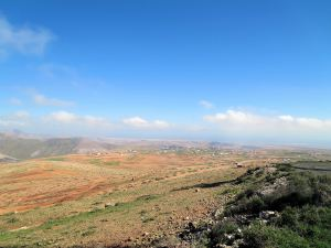 Central north Fuerteventura from the settlement of Time.