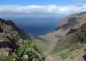 Gran Canaria Towards Gui Gui (copyright Chris Kurton)