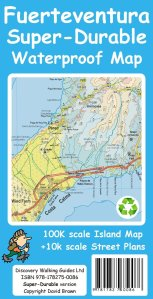 Fuerteventura Super-Durable Map 2015