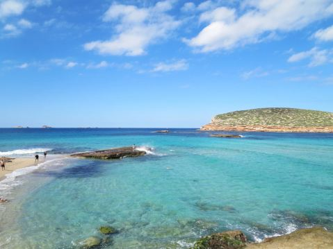 Cove on Ibiza's west coast