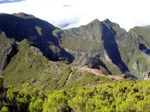 High above the world on Madeira's peaks