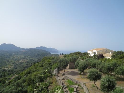 The Kaiser's Throne, Corfu