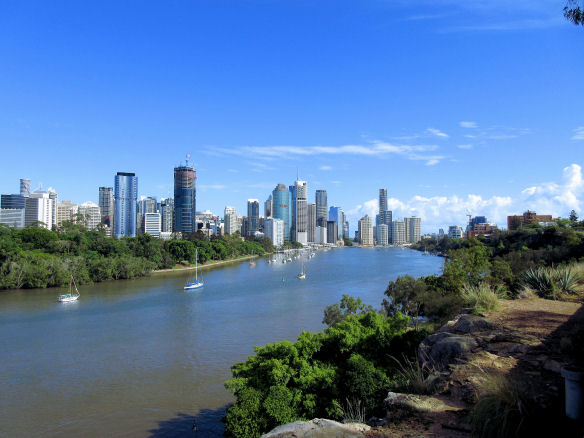 The clifftop route above the Brisbane River SMALL