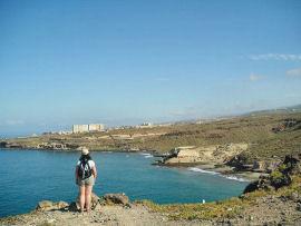 Tenerife South Life in the Raw looking towards Playa ParaisoSMALL