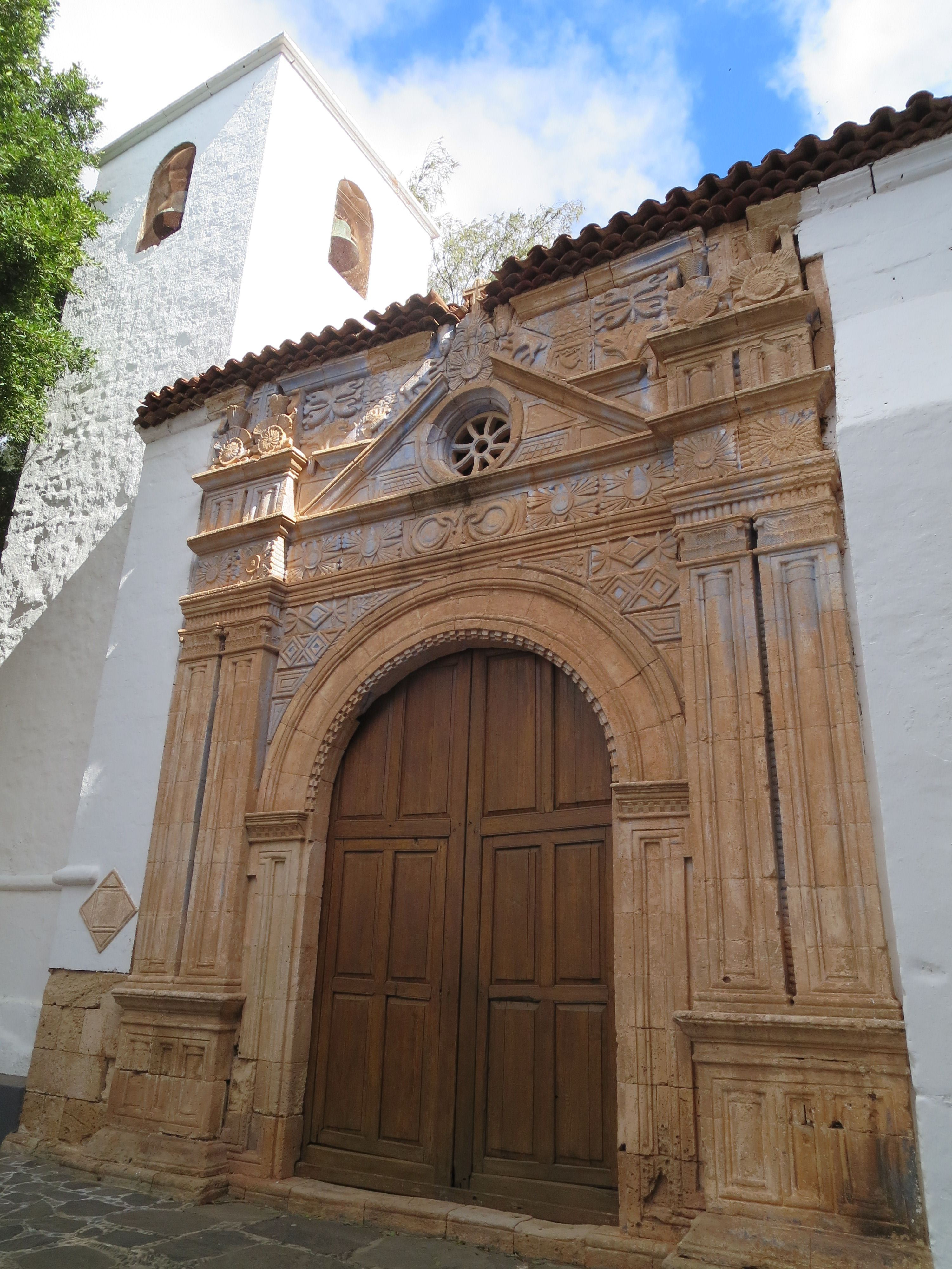 Iglesia de Nuestro Senora de Regla, Pajara (Fuerteventura)
